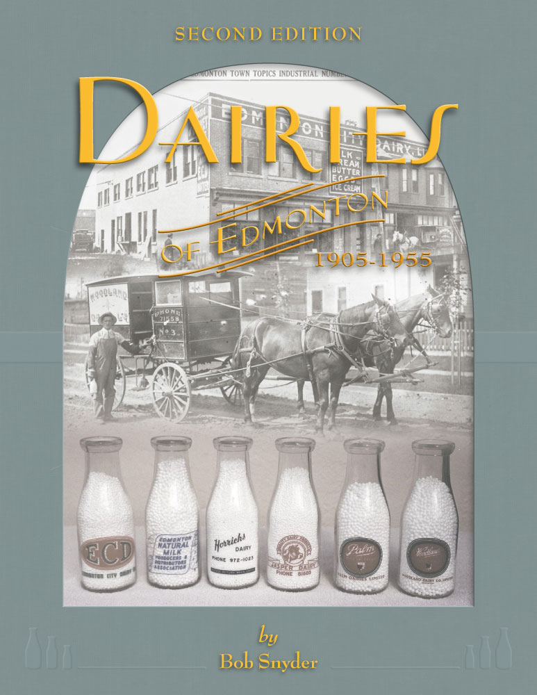 Dairies of Edmonton second edition by Bob Snyder front cover