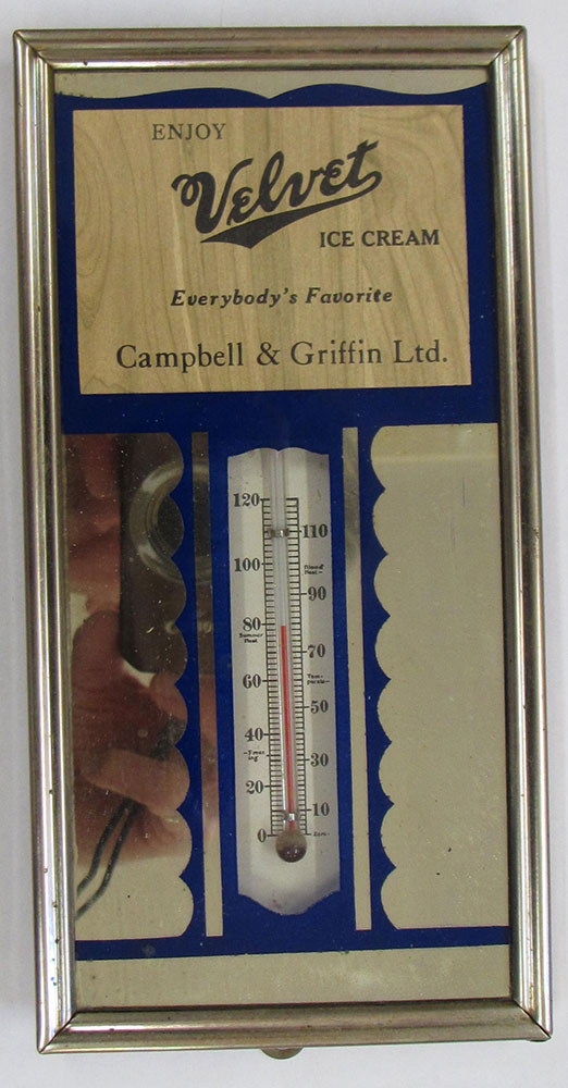 Campbell & Griffin Ltd. thermometer.