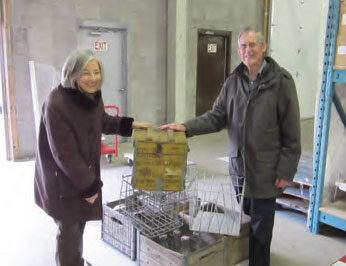 Alberta dairy collection donated to the museum.